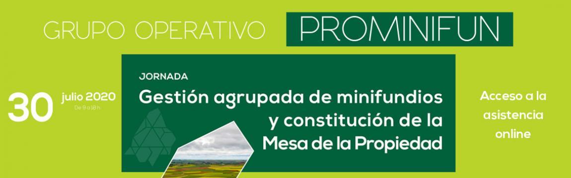 Gestión agrupada de minifundios y constitución de la Mesa de la Propiedad
